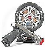 Mallya Infrared laser wheel Electronic Target Shooting Gun Set