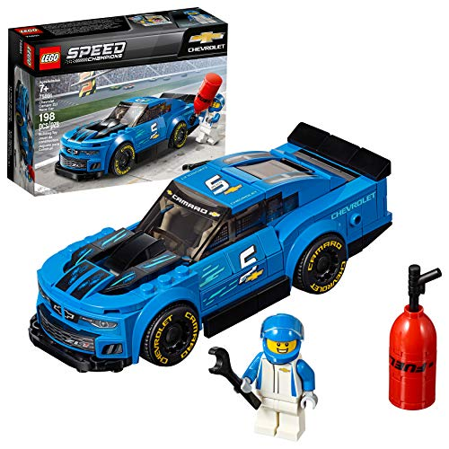 LEGO Speed Champions Chevrolet Camaro ZL1 Race Car 75891 Building Kit , New 2019 (198 Piece)