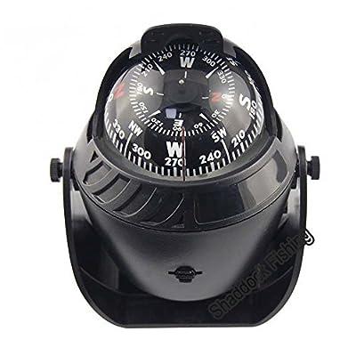 Shaddock Fishing LED Light Sea Marine Compass Boat Ship Compass Electronic Vehicle Car Compass Navigation
