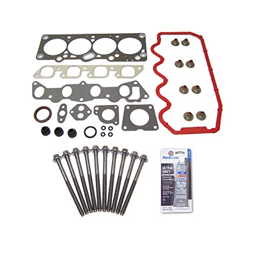 (Head Gasket Set Bolt Kit Fits: 92-96 Ford Escort Mercury Tracer 1.9L SOHC Cu.116 VIN)