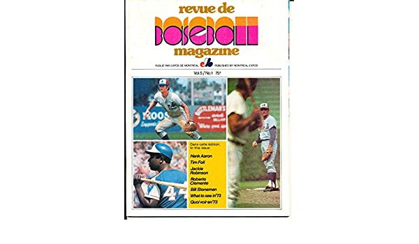 1973 Montreal Expos Baseball Yearbook em vol 5#1 at Amazons Sports Collectibles Store
