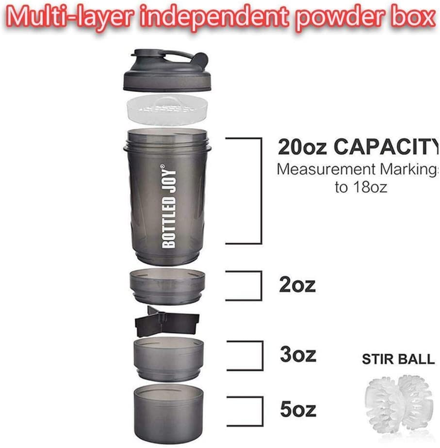 ZLYMY CUS Stainless Steel Protein Shaker Bottle Gym Shake Kettle Sport Milkshake Mixer Water Bottle Whey Protein for Fitness BPA-Free new Blue 740ml