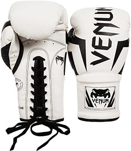 Venum Elite Boxing Gloves with Laces VENUM-02728-002-14oz-Parent