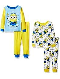 Despicable Me boys Despicable Me 4-piece Cotton Pajama Set
