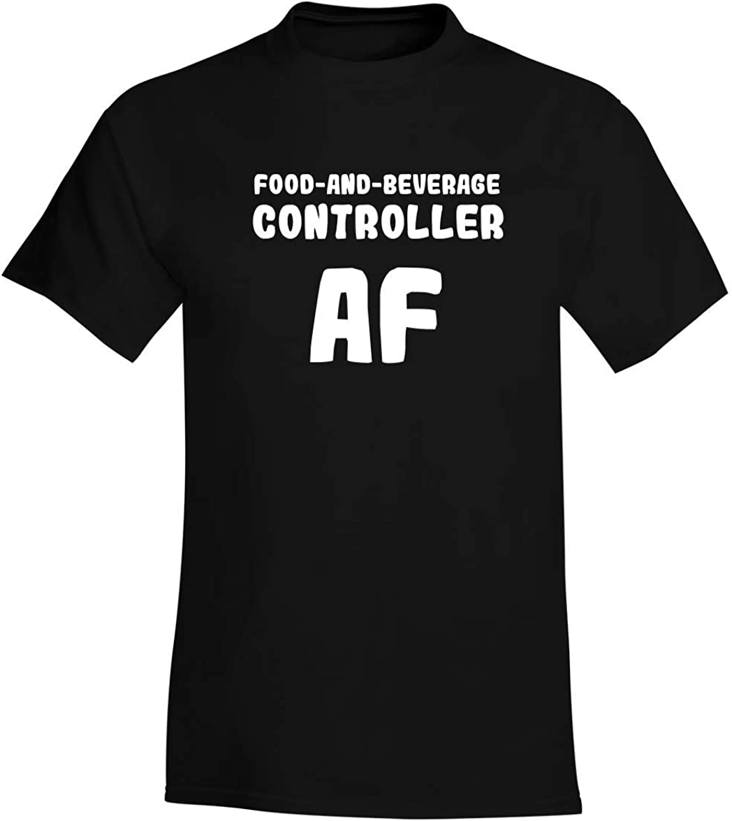 Food-And-Beverage Controller AF - A Soft & Comfortable Men's T-Shirt