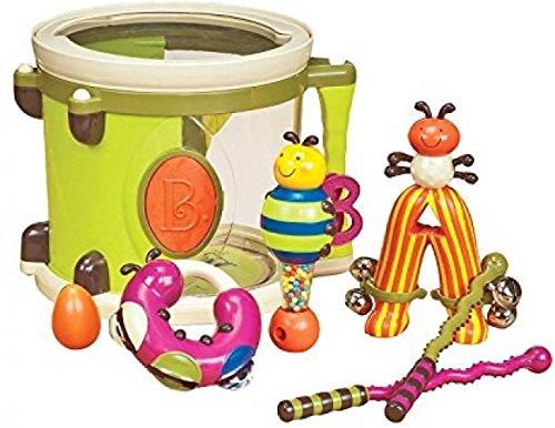 - B. Parum Pum Pum Drum Set - Teaches Musical Discovery, Rhythm, And Creativity - .HN#GG_634T6344 G134548TY11407