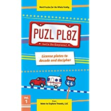 PUZL PL8Z Volume 1: License plates to decode and decipher