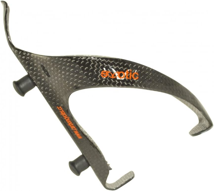 eXotic Vector Pro Full Monocoque Carbon Bottle Cage with Rubber Bottle Gripper