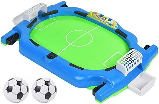 Juegos de mesa Mini Juego de fútbol de sobremesa Juego de fútbol de Mesa Habilidades de fútbol Power-Power Shot: Amazon.es: Deportes y aire libre