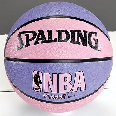"NBA Street Basketball - Pink & Purple - Intermediate Size 6 (28.5"")"