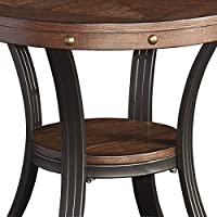 Powell Furniture 16A8243ST Franklin Side Table, Small