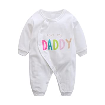 8228719af1692 エルフ ベビー(Fairy Baby)新生児服 カバーオールロンパース 前開き 長袖 四季兼用 可愛い