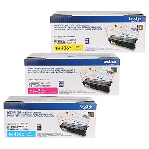 Brother HL-L8360CDW  Super High Yield Toner Cartridge Set Co