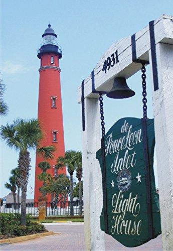 (Ponce de Leon Lighthouse, Ponce Inlet, Florida, FL, Souvenir Magnet 2 x 3 Photo Fridge Magnet)