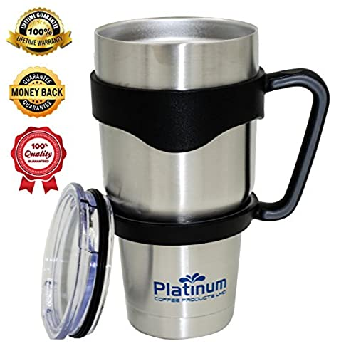Stainless Steel Coffee Cup Insulated Thermos Travel Mug Amazon