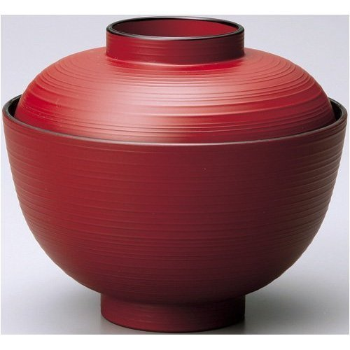 japanese soup rice bowl with lid - 3