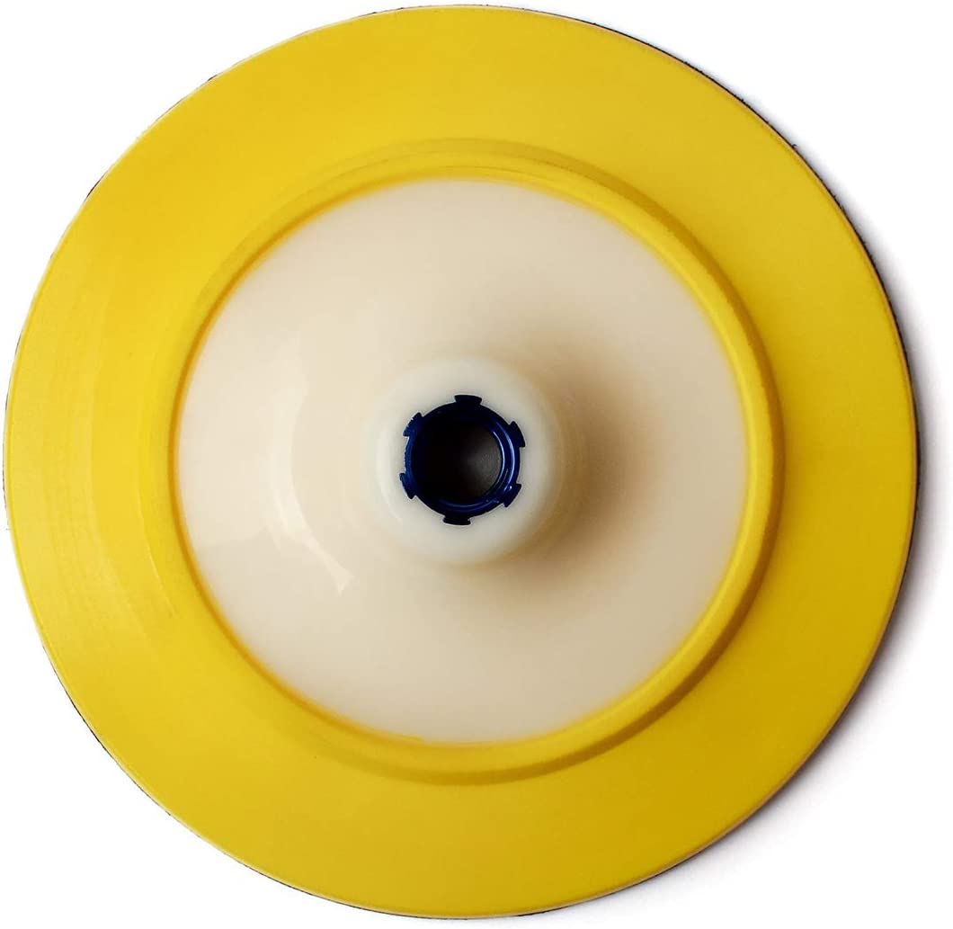 5 Hook and Loop Backer Pad with 5//8-11 Thread for Sanding//Polishing Pads