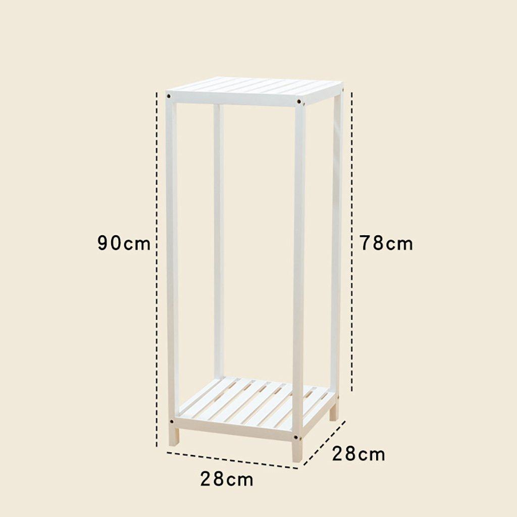 Flower stand indipendente in legno massello multistrato soggiorno balcone interno esterno scaffale a terra basamento impianto cinque dimensioni protezione anticorrosione ( dimensioni   282890cm )