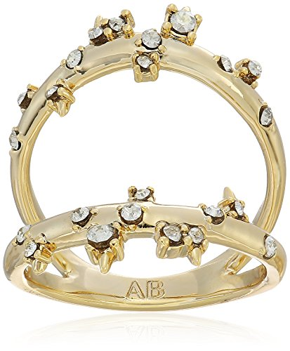 Alexis Bittar Double Band Satellite Crystal Ring, Size (Alexis Bittar Ring)