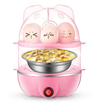 3 in 1 360 W 7 elettrico Egg Boiler bracconiere omellete Maker Fornello in acciaio inox
