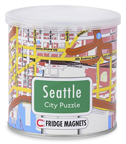 Geotoys City Magnetic Puzzle Seattle