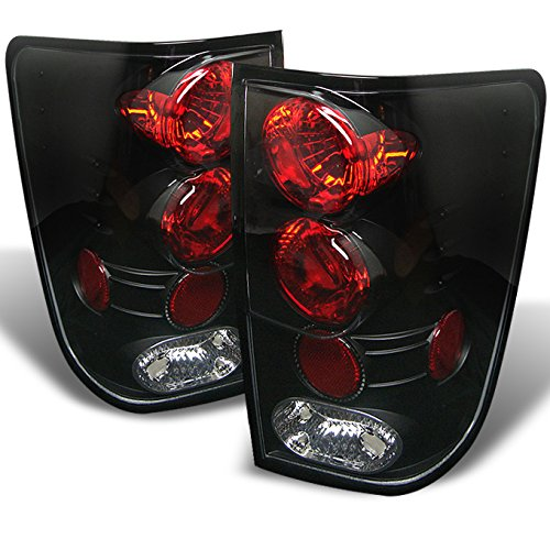 - For 04-12 Titan A60 Pickup Truck Rear Black Bezel Tail Lights Brake Lamps Replacement Pair Left + Right