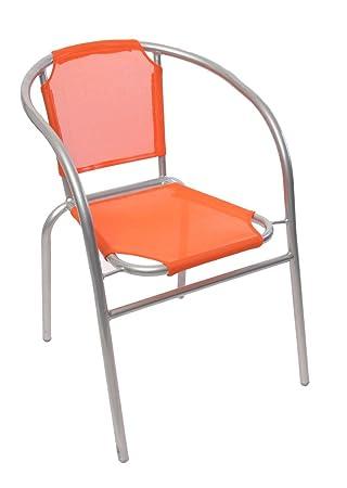 Mendler Chaise Bistrot Pour Jardin M31 Aluminium Empilable