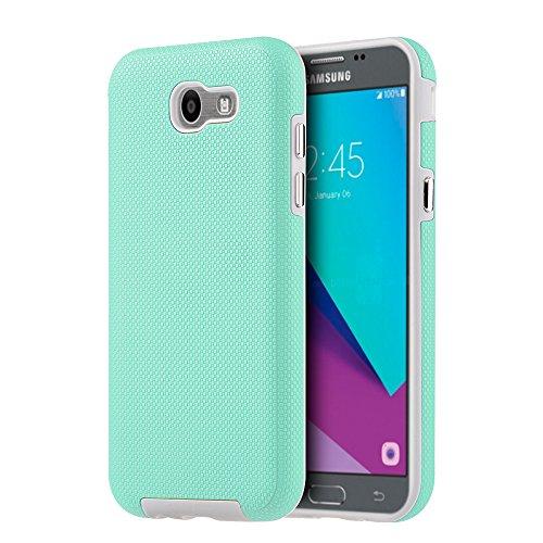 Slim Shockproof Case for Samsung Galaxy J7 (Grey) - 9