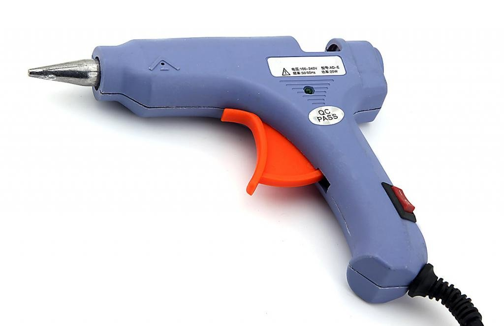 Generic Hot Melt Glue Gun 100~240V 50~60Hz 20W Blue Owfeel(TM)