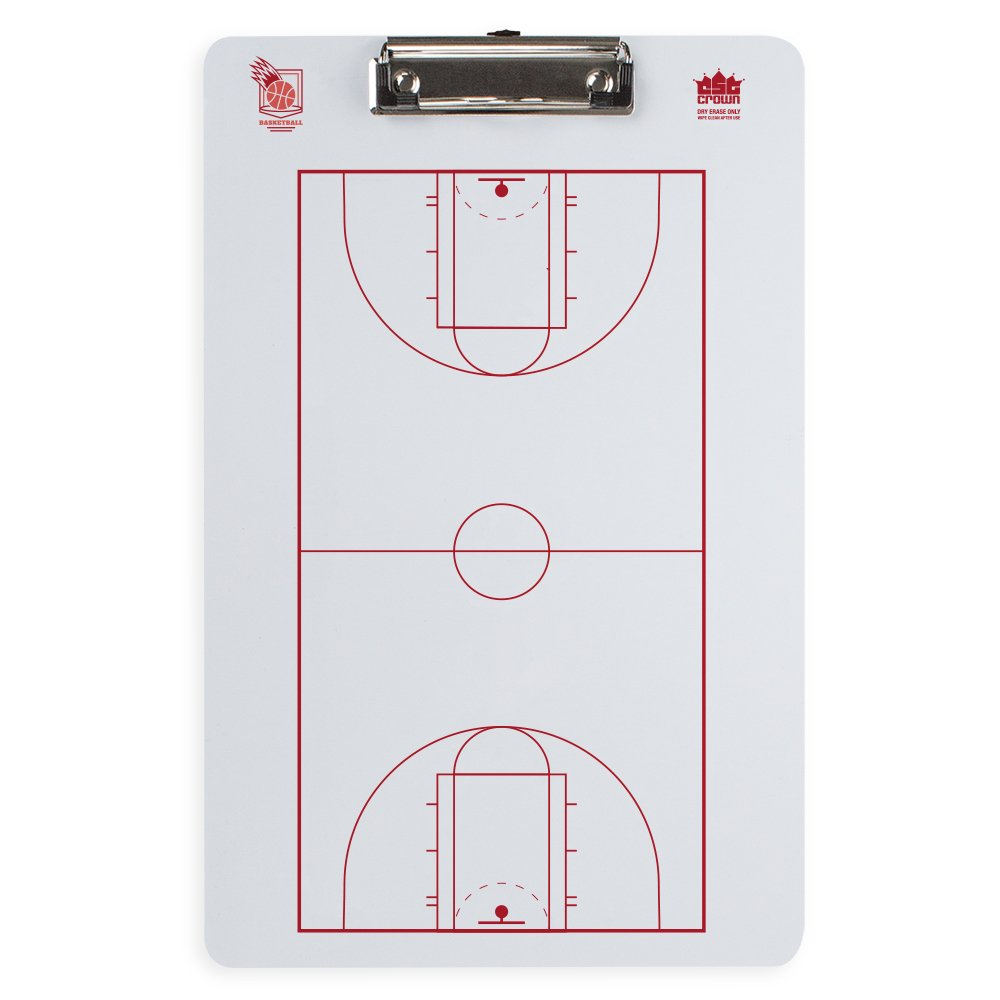 Crown Sporting Goods Dry Erase Basketball Coaching Clipboard 796520339361