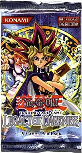 Yu-Gi-Oh Legacy of Darkness Booster Pack [Toy]: Amazon.es: Juguetes y juegos