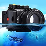 PULUZ 40m Underwater Depth Diving Case Waterproof Camera Housing for Sony RX100 IV