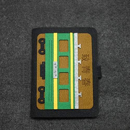 BLOUR Álbum de Fotos Polaroid con Inserto de Fieltro
