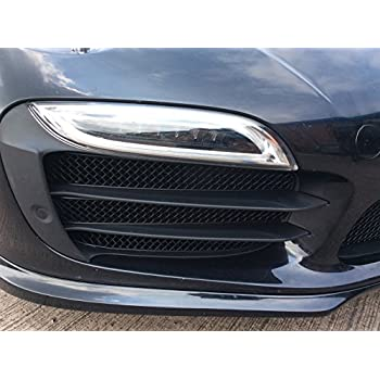 Zunsport Compatible Porsche 991 Turbo S Gen 1 - Full Grille Set - Black Finish (2013 to 2015)