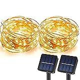 Solar String Lights, MagicPro 100 LEDs Starry