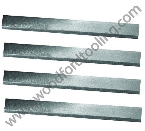 24-1/8'' x 1-3/16'' x 1/8'' HSS Planer blades to fit Grizzly G9741 - 24'' Extreme-Duty Planer, Set of 4 by Xcalibur
