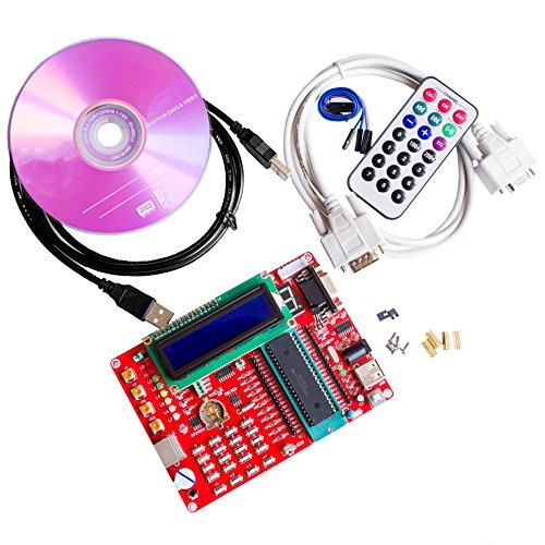 Eyoso learning board PIC microcontroller experiment board PIC microcontroller development board 16F877A video tutorials