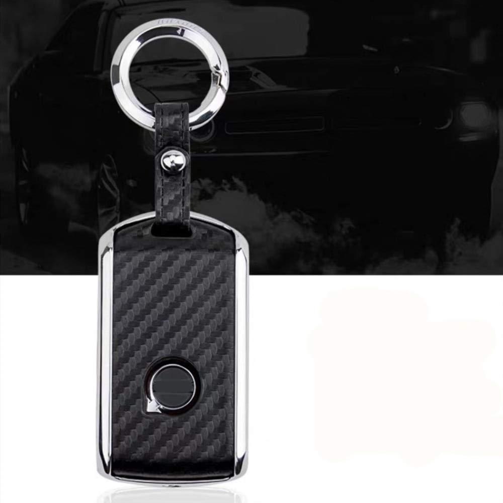 WDNMDQZ//Cover per Chiave Auto per Volvo XC40 XC60 S90 XC90 V90 2017 2018 Car///Key Key per Auto///// Nero