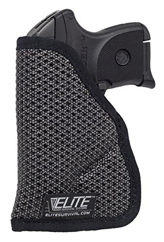 Elite Survival Systems ELS7130-11 Mainstay Tm Clipless Iwb/Pocket Holster,Size 11, Black
