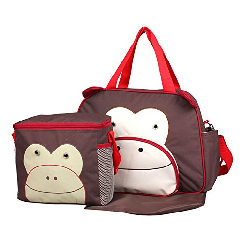 Amazon.com : Hot Animal Style Maternity Big Nappy Bags+Picnic Bag ...