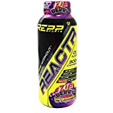 Repp Sports Reactr Explosive Pre-Workout RTD, (Zap Berry) 12-10oz Bottles