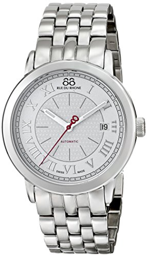 88-Rue-du-Rhone-Mens-87WA120031-Analog-Display-Swiss-Automatic-Silver-Watch
