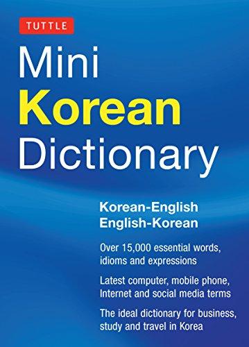 Tuttle Mini Korean Dictionary: Korean-English English-Korean (Tuttle Mini Dictiona)