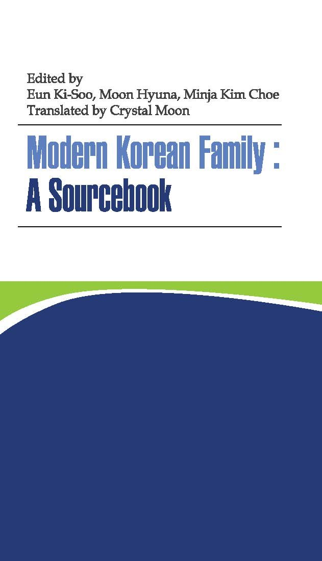 Modern Korean Family: A Sourcebook pdf epub