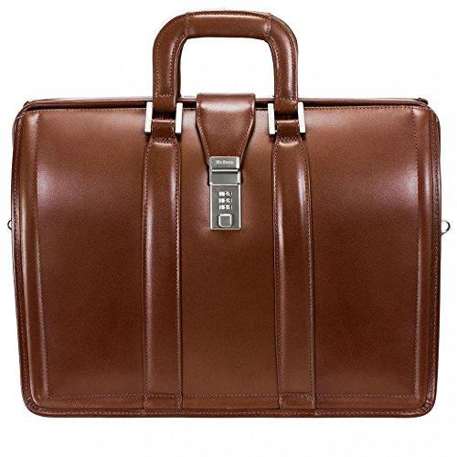 Series Morgan Leather - McKleinUSA MORGAN 83344 Brown 17 Litigator Laptop Brief