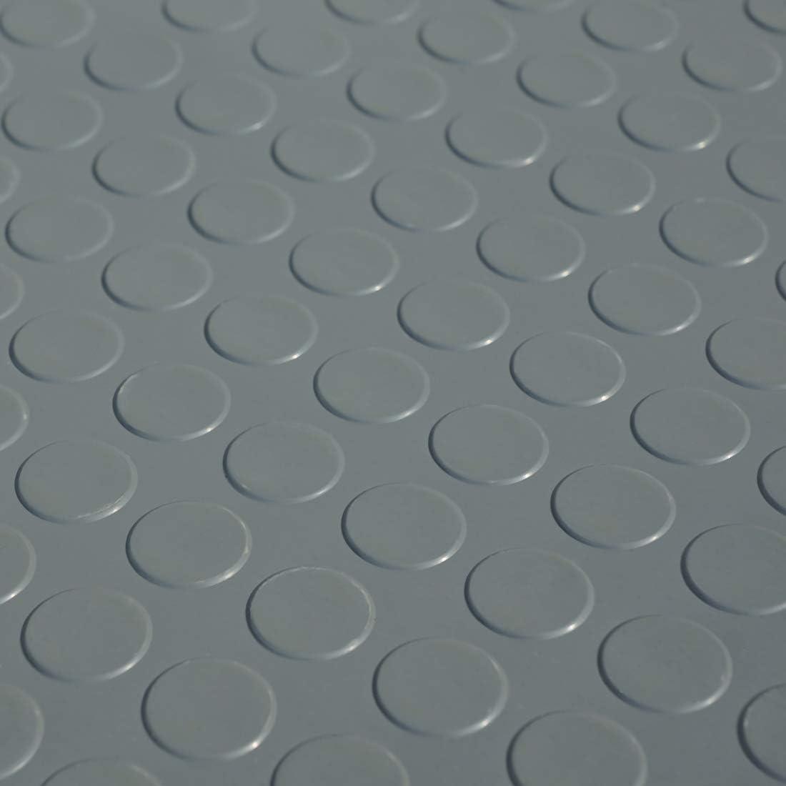 1,5 x 1,34m Farbe: Schwarz 2m/² Noppenmatte St/ärke: 3mm
