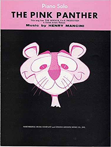 The Pink Panther Pianovocalchords Sheet Henry Mancini