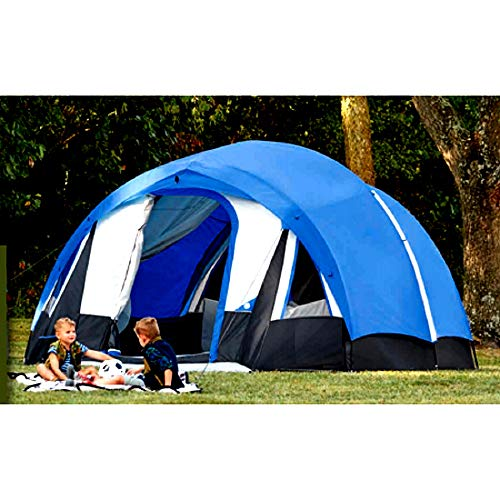 - 10 Person Freestanding Tunnel Tent with Multi-Position Roll-Up Fly 2 Doors 6 Windows Large & Smart Design Outdoor Adventures Easy and Safe - Skroutz Deals