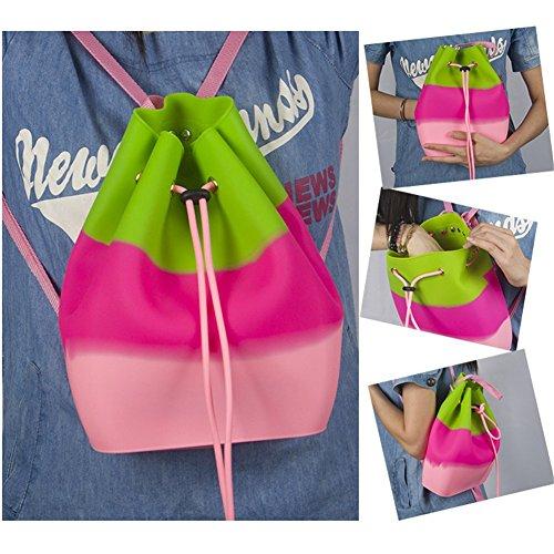 Drasawee - Backpack Bag Black One Size White Woman