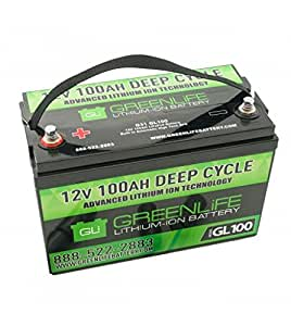 Amazon.com: GreenLiFE Battery GL100 - 100AH 12V Lithium